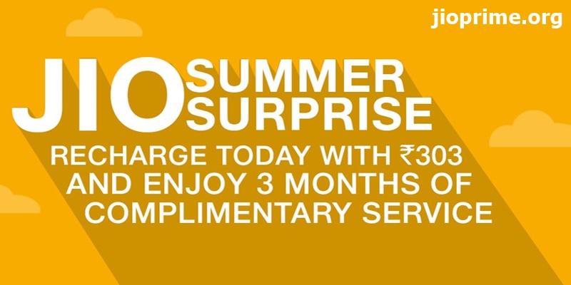 Jio Summer Surprise