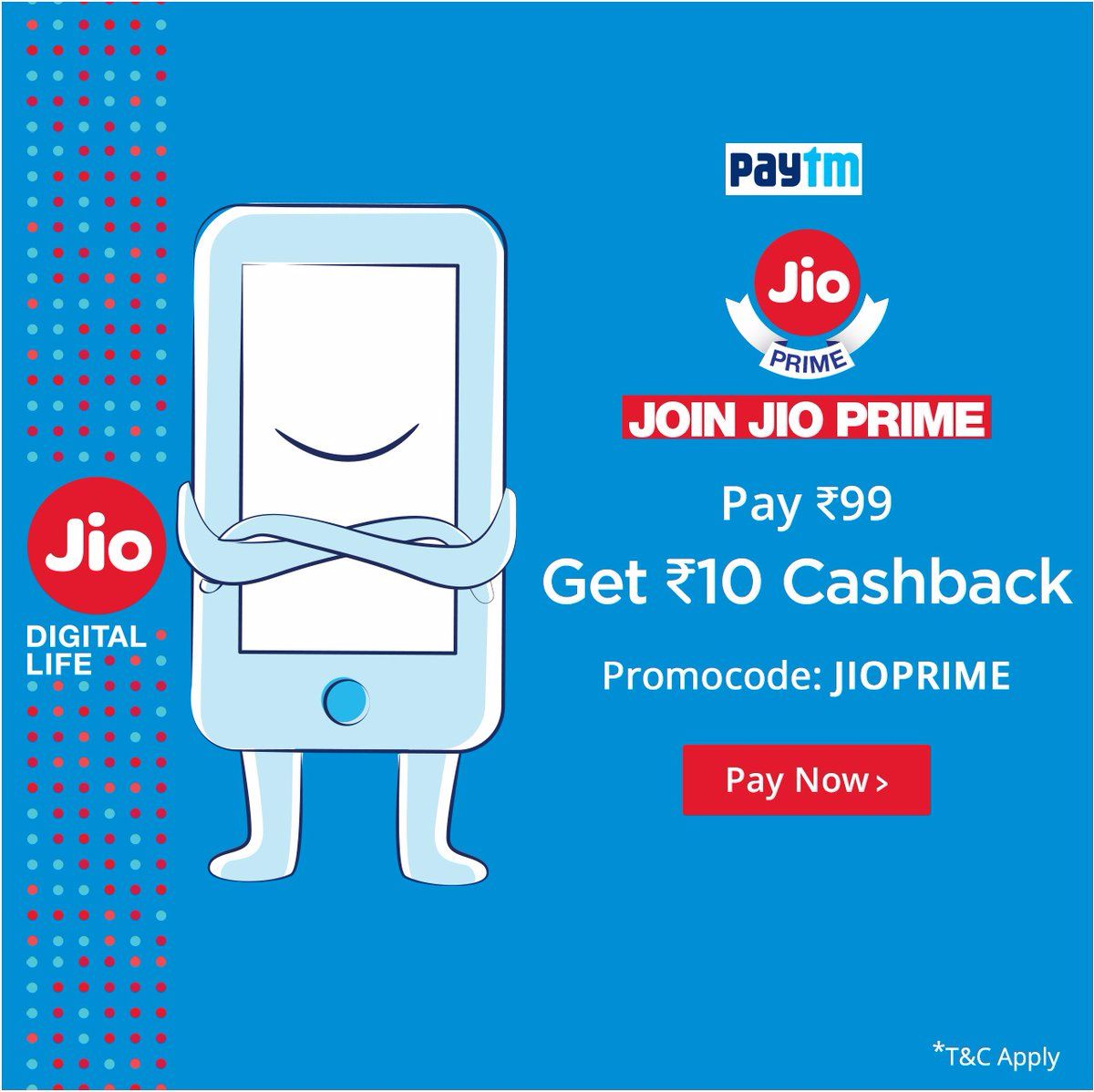jio prime cashback offers
