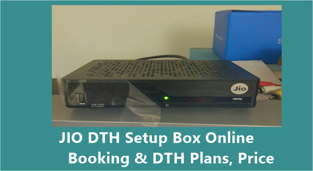 JIO DTH Online Booking/ Registration Buy 2019 - JIO Set Top Box