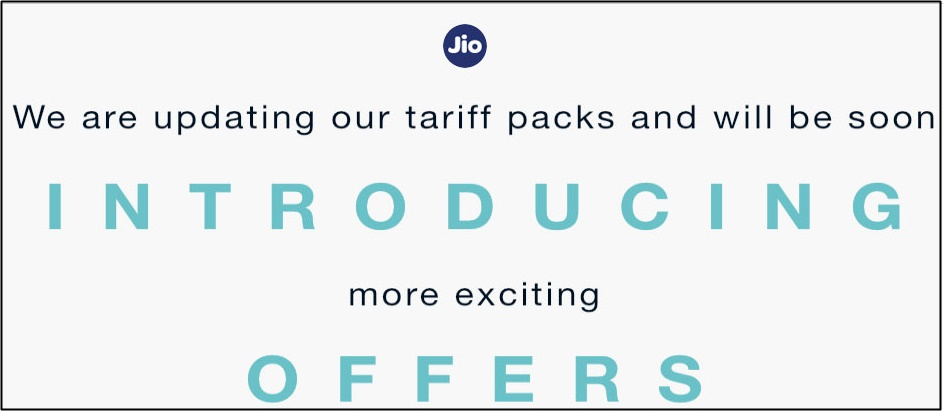 Jio is Preparing New tariffs