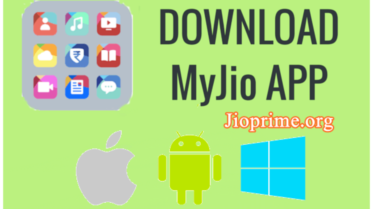 My Jio App Download For Android, iOS & Windows - Jio4gVoice