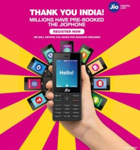 Jio Phone Delivery Date OUT – Jio 1500 Mobile Finally Coming on this festival