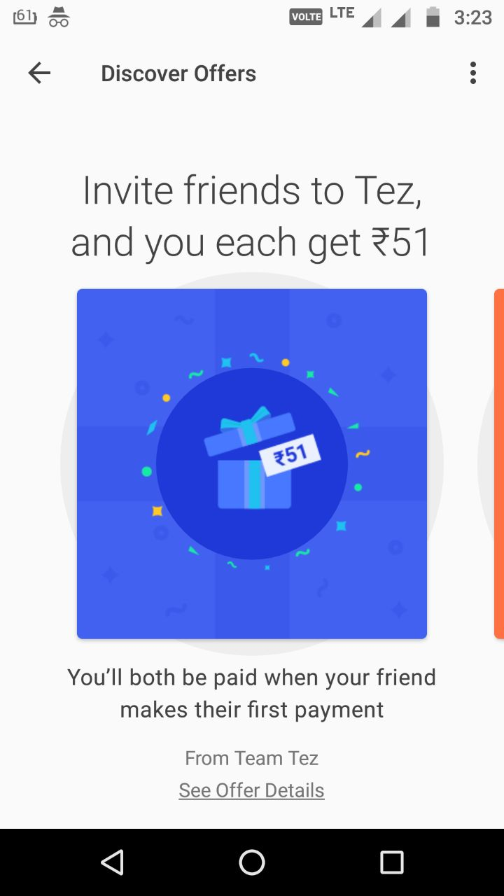 Google Pay (Tez) App Download For Android & iOS - Refer Earn Rs 51