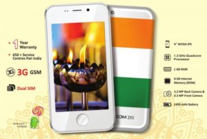Freedom 251 Mobile Online Booking/ Registration @ Rs 251 – Buy Now at www.freedom251.com