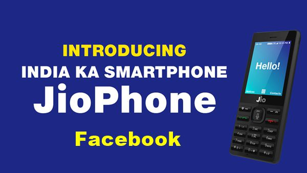 Facebook app for jiophone