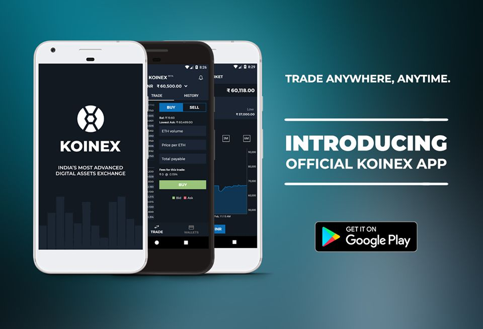Koinex App Download