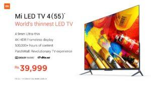 MI TV 4 Buy Online Booking Flipkart Flash Sale @ Rs 39999 – Pre Order MI 4K HDR TV, Price, Features