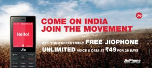 Jio Phone Recharge Plans List Rs 49, Rs 153 & Cashback Offers – Buy Jiophone With RC 49 Plan