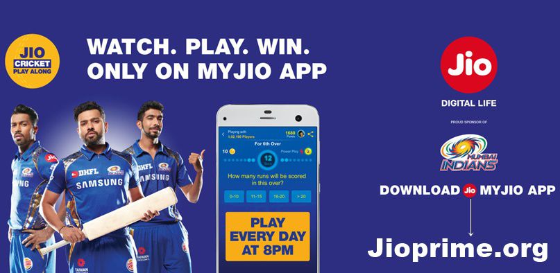 Jio Cricket Play Along app