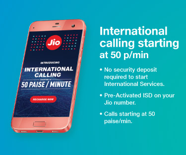 JIO International Calling