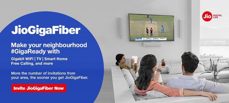 jio giga-fiber invite