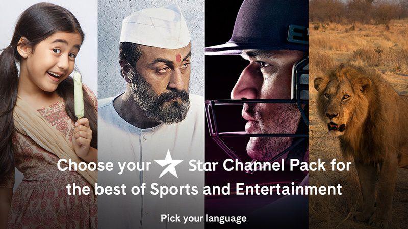Star Value Pack Prices (Hindi, Marathi, Telugu, Tamil, Kannada