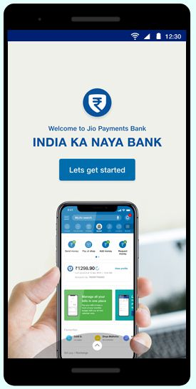 Jio Payments Bank step-1
