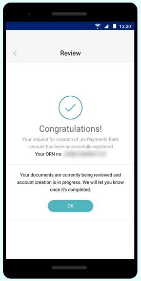 Jio Payments Bank step-9